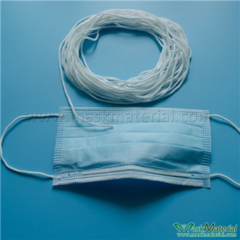 Picture of elastic rubber for mask(MM-ER128)