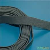 Elastic Headband For Gas Masks, Gray, 13MM Width, Elasticity 1:2.2
