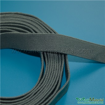 Picture of Elastic Headband For Gas Masks, Gray, 13MM Width, Elasticity 1:2.2