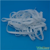 5.5MM White Elastic Band