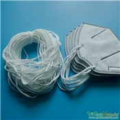 Flat Elastic Ear loop for N95 face mask