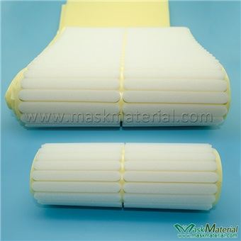 Picture of White Adhesive Sponge For N95 Masks