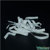 White Flat Elastic Tape