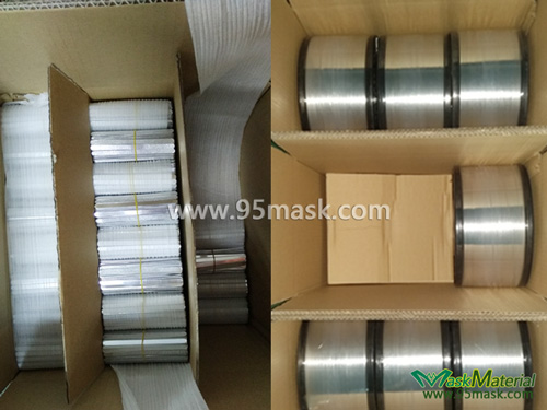 Packing Of Flat Aluminium Nose Wire